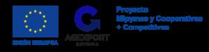 Unión Europea, AGEXPORT, PRoyecto Mipymes y Cooperativas + Competitivas